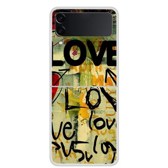 Coque Samsung Galaxy Z Flip3 5G Love Love Love
