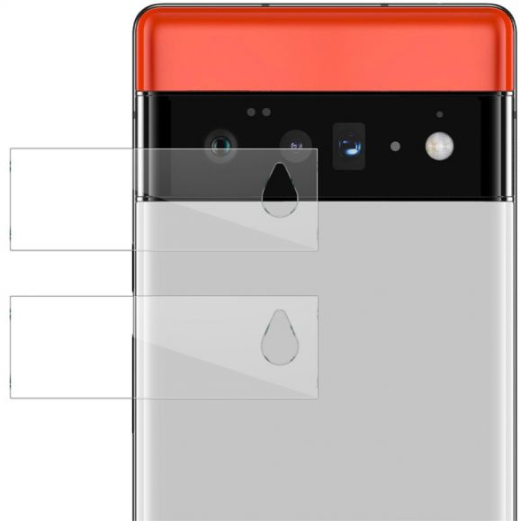 Verre Trempé Google Pixel 6 Pro pour lentille (2 pièces)