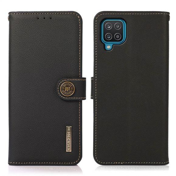 Housse Samsung Galaxy A12 / M12 KHAZNEH Classic en cuir