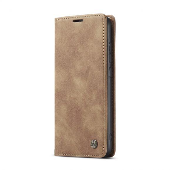 Housse Xiaomi Redmi Note 8 2021 / 2019 Golias imitation cuir rétro
