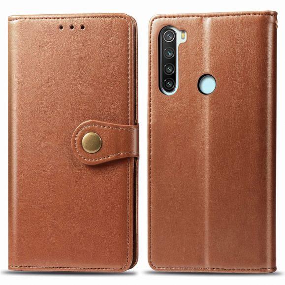 Housse Xiaomi Redmi Note 8 2021 / 2019 Indila Simili Cuir Porte Cartes