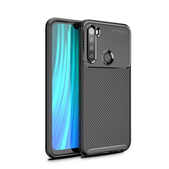 Coque Xiaomi Redmi Note 8 2021 / 2019 style fibre de carbone