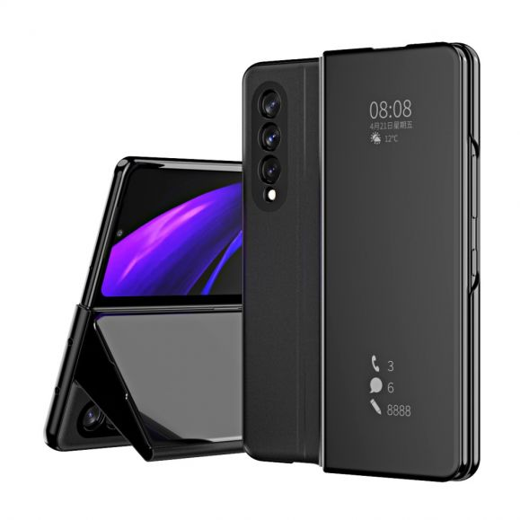 Coque Samsung Galaxy Z Fold3 5G avec rabat effet miroir