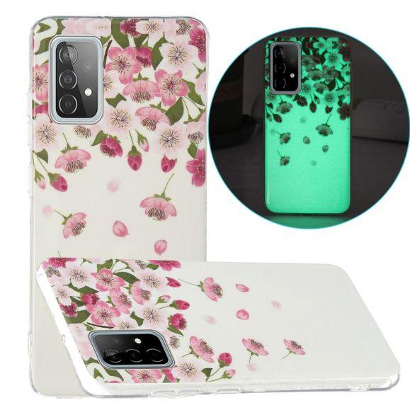 Coque Samsung Galaxy A52 4G / 5G / A52s 5G Fluorescente Fleurs