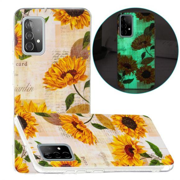 Coque Samsung Galaxy A52 4G / 5G / A52s 5G Fluorescente Tournesol Vintage