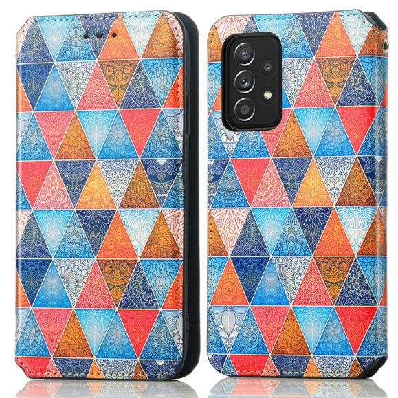 Housse Samsung Galaxy A52 4G / 5G / A52s 5G Mandala Géométrique