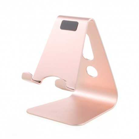 Support de Bureau Universel en Aluminium - Or Rose