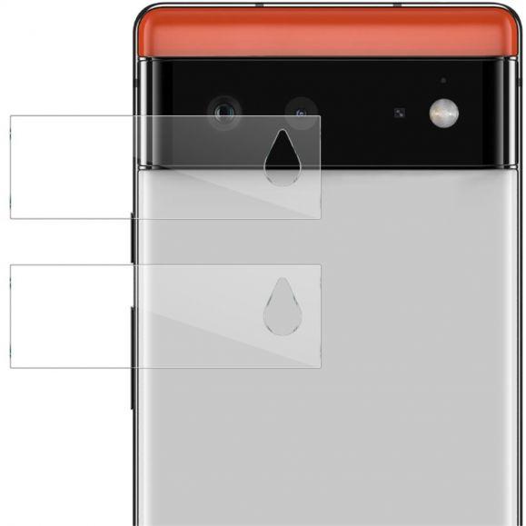 Verre Trempé Google Pixel 6 pour lentille (2 pièces)