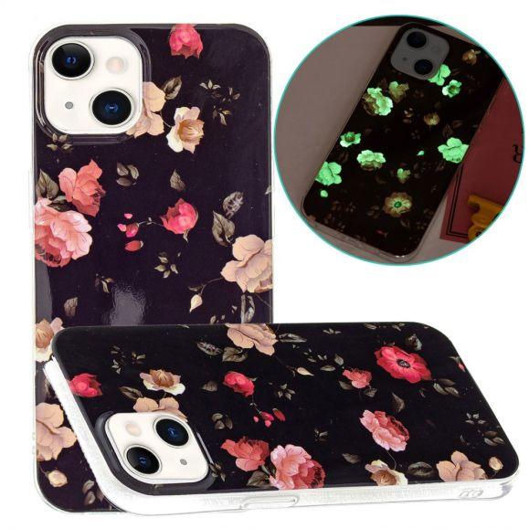 Coque iPhone 13 Fluorescente Sublime Fleurs