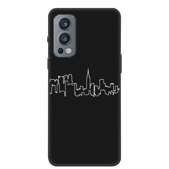 Coque OnePlus Nord 2 5G silicone City