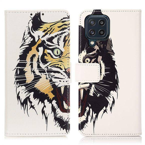 Housse Samsung Galaxy M32 Tigre féroce