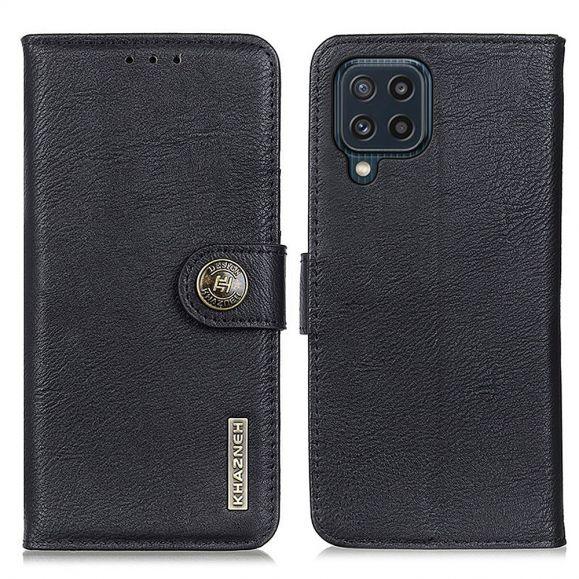 Housse Samsung Galaxy M32 KHAZNEH Effet Cuir Porte Cartes