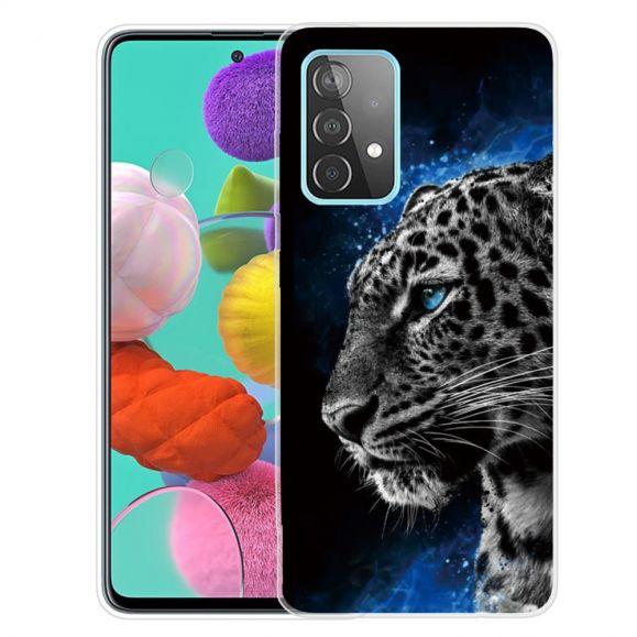 Coque Samsung Galaxy A52, A52 5G et A52s 5G Portrait Tigre