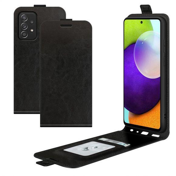 Housse Samsung Galaxy A52, A52 5G et A52s 5G simili cuir avec rabat vertical