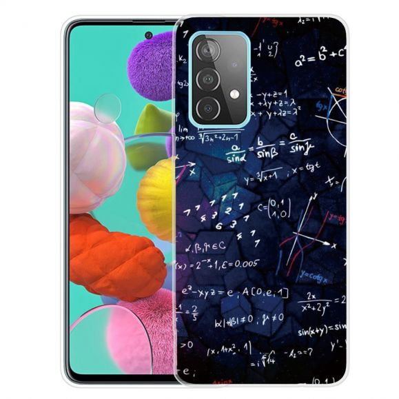 Coque Samsung Galaxy A52, A52 5G et A52s 5G Formules mathématiques