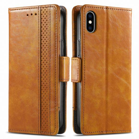 Housse iPhone XS / X Flip Business