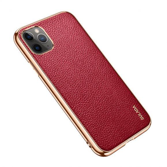 Coque iPhone 11 Pro Max SULADA effet cuir grainé
