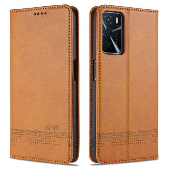 Étui Oppo A16 / A16s portefeuille AZNS simili cuir