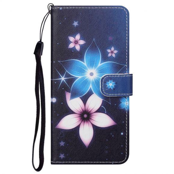 Housse Motorola Edge 20 Pro Fleurs