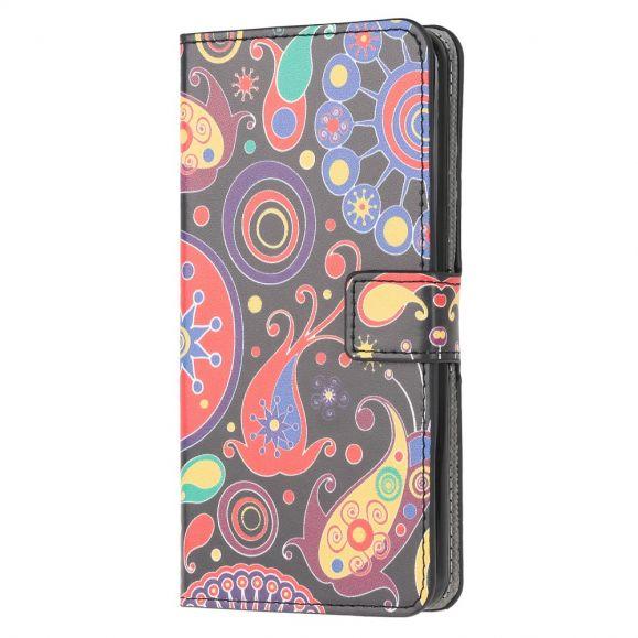 Housse Samsung Galaxy M32 paisley fleur