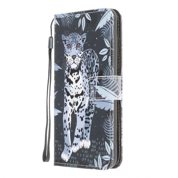 Housse Samsung Galaxy M32 Léopard