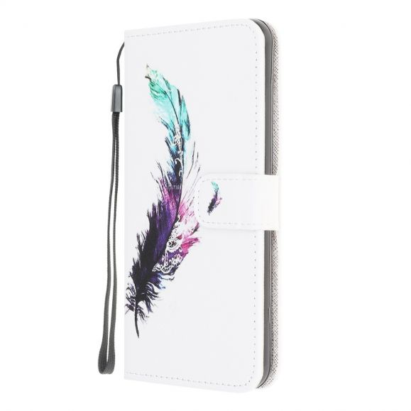 Housse Samsung Galaxy M32 Plume