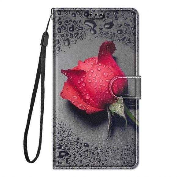 Housse Samsung Galaxy A52s 5G, A52 5G et A52 4G Rose