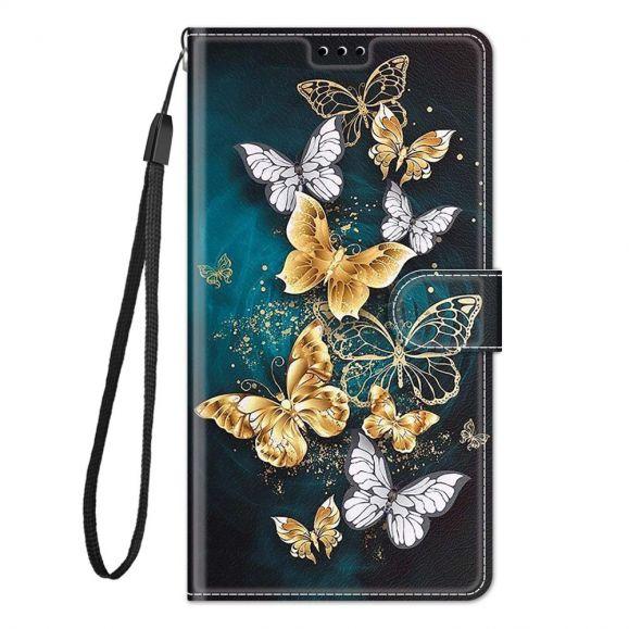 Housse Samsung Galaxy A52s 5G, A52 5G et A52 4G Butterflies