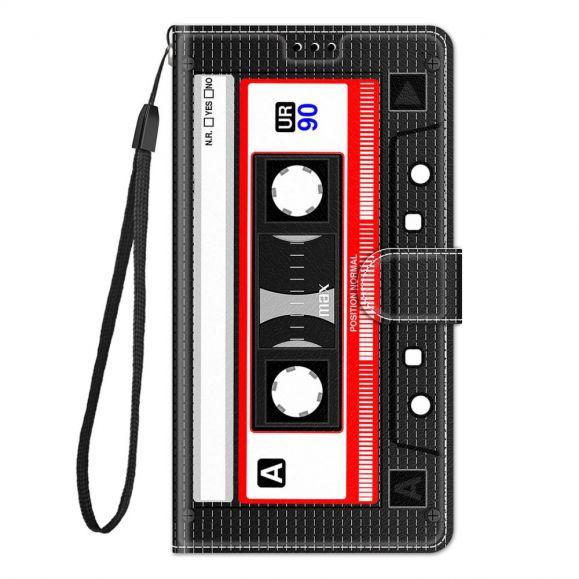 Housse Samsung Galaxy A52, A52 5G et A52s 5G Cassette audio