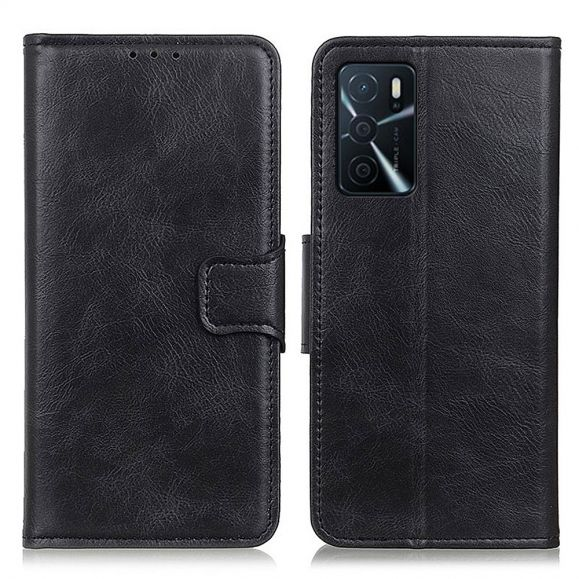 Housse Oppo A16 / A16s Folio Simili Cuir Fonction Support