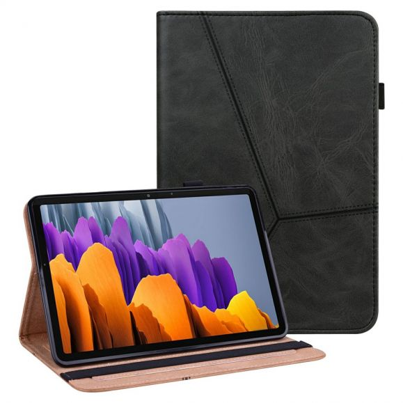 Housse Samsung Galaxy Tab S7 Lines Effet Cuir