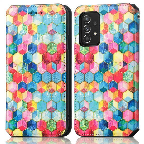 Housse Samsung Galaxy A52 4G / 5G / A52s 5G Cube 3D