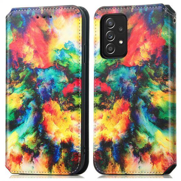 Housse Samsung Galaxy A52 4G / 5G / A52s 5G Nuage iridescent