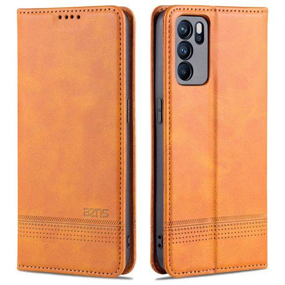 Étui Oppo Reno 6 Pro 5G portefeuille AZNS simili cuir