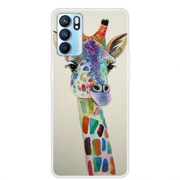 Coque Oppo Reno 6 Pro La Girafe