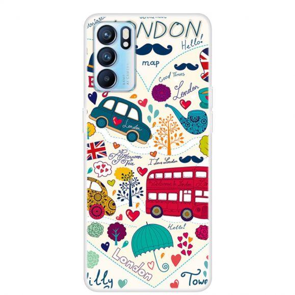 Coque Oppo Reno 6 5G Illustration Londres