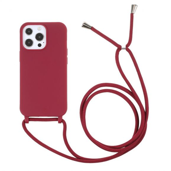 Coque iPhone 13 Pro Max avec cordon bandoulière