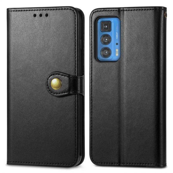 Housse Motorola Edge 20 Pro Indila Simili Cuir Porte Cartes