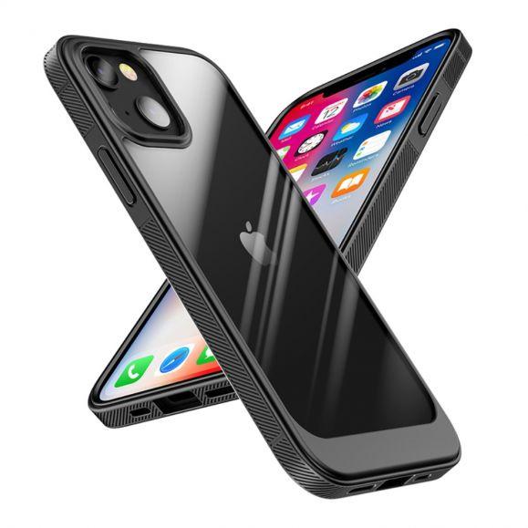 Coque iPhone 13 SNEAKY transparent contour couleur
