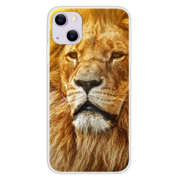 Coque iPhone 13 Golden Lion