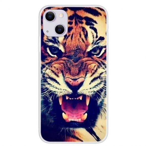 Coque iPhone 13 Tigre Féroce