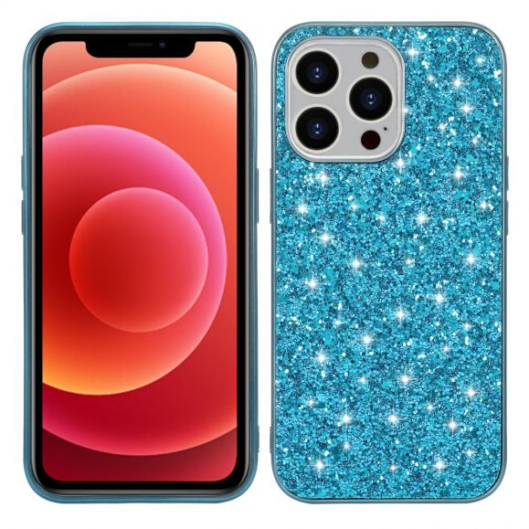 Coque iPhone 13 Pro Max Paillettes Glamour
