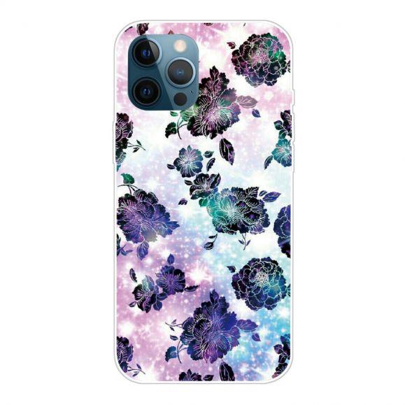 Coque iPhone 13 Pro Max Purple Flowers