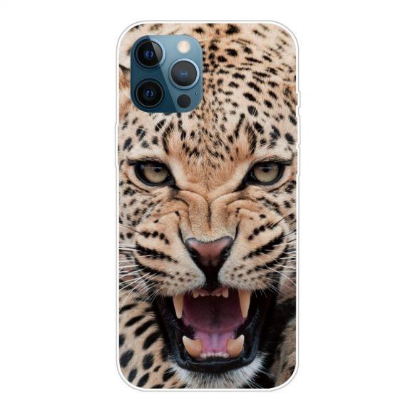 Coque iPhone 13 Pro Max Leopard Rugissant