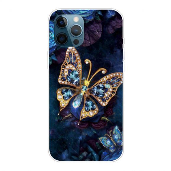 Coque iPhone 13 Pro Max Papillon jewelry