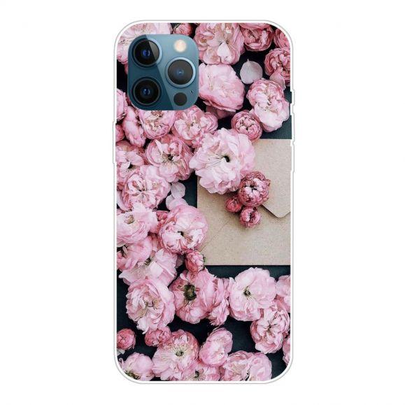 Coque iPhone 13 Pro Max Fleur ROSE