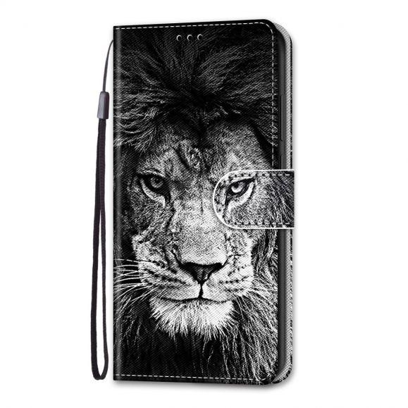 Housse iPhone 13 Pro Max Portrait Lion