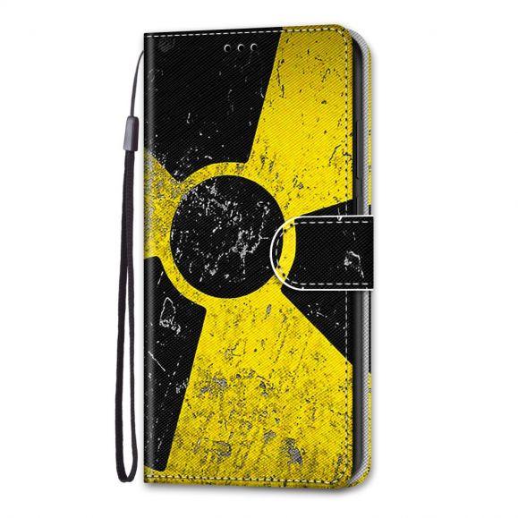 Housse iPhone 13 Pro Max Symbole Radioactif