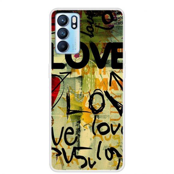 Coque Oppo Reno 6 5G Love Love Love