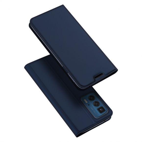 Étui Motorola Edge 20 Pro Business Effet Satiné